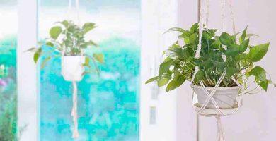 Maceteros para flores y plantas artificiales