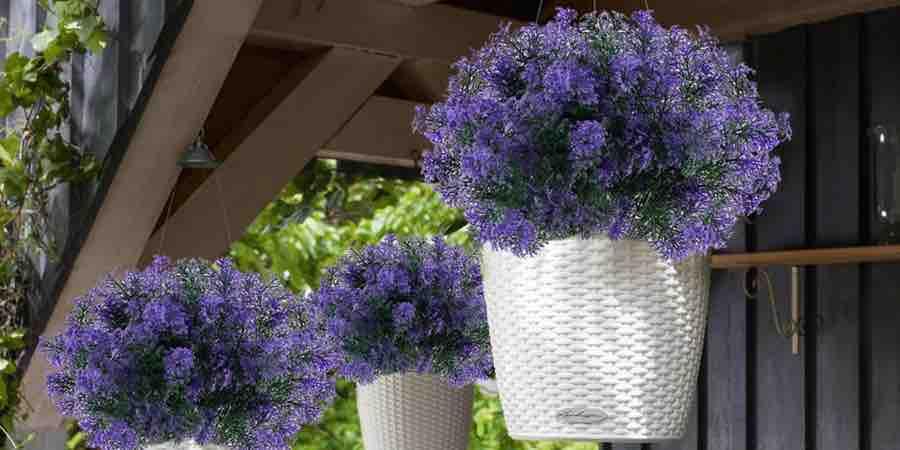 Plantas artificiales exterior para macetas