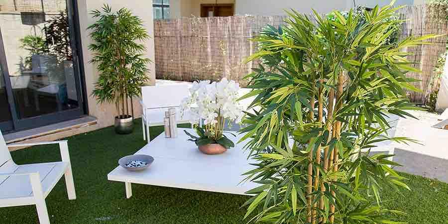 Plantas artificiales grandes, plantas artificiales de lujo, plantas artificiales de calidad