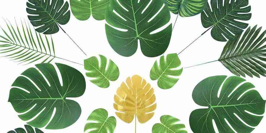 hojas artificiales de palmera para decoración de fiestas, leroy merlin plantas artificiales, caña bambú artificial leroy merlin, plantas artificiales bauhaus, plantas artificiales realistas